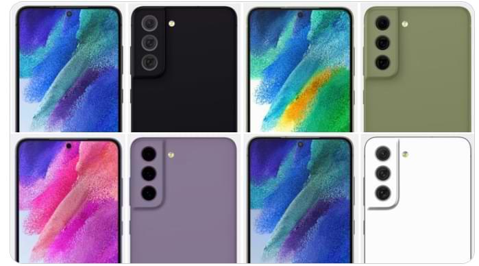 Aparecen en Internet renderizados del Samsung Galaxy S21 FE con nuevas variantes de color