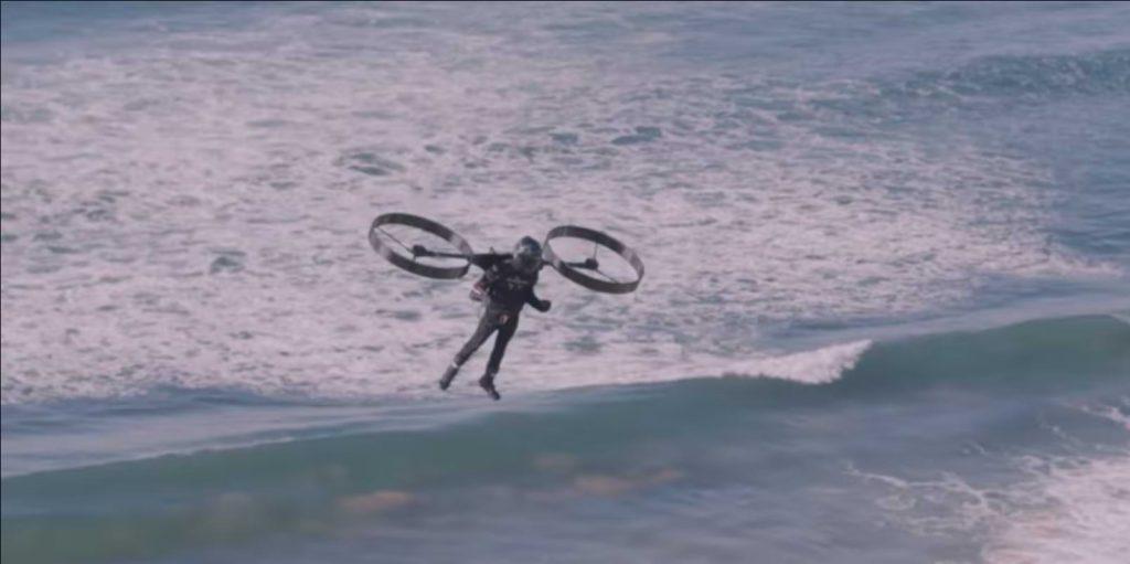 Keren! Sekarang Ada Helikopter Ransel Futuristik yang Akan Diproduksi, Mirip dengan Game GTA