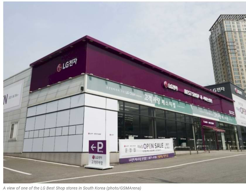 No solo Apple, Samsung también quiere vender sus teléfonos inteligentes en las tiendas propiedad de LG