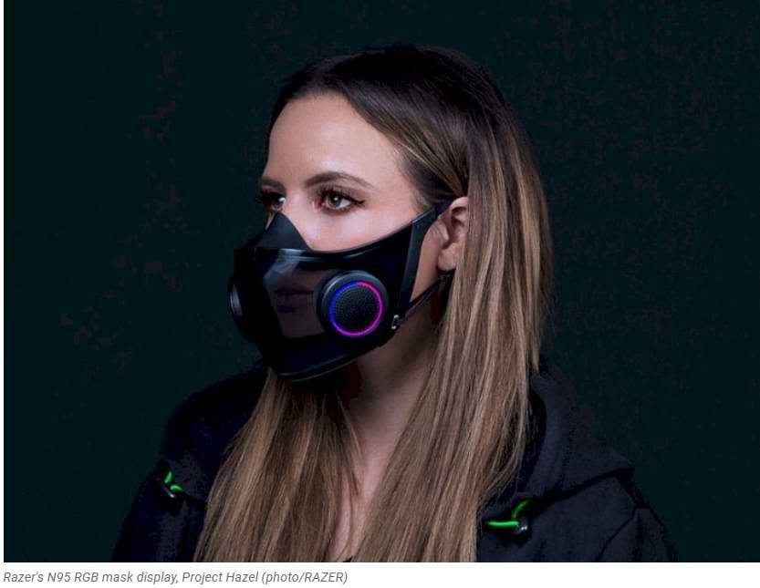 Razer realmente venderá sus máscaras RGB en el cuarto trimestre de este año