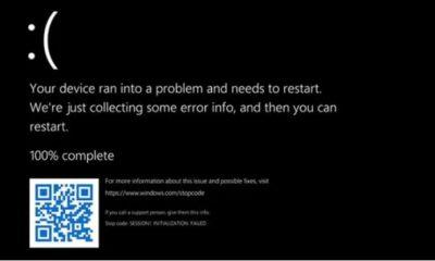 BSOD en Windows 11 ahora usando negro