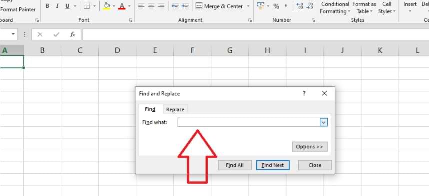 Cómo buscar y reemplazar la función en Microsoft Excel