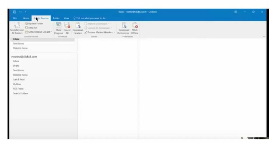Cómo configurar las opciones de la cinta de opciones de Microsoft Outlook