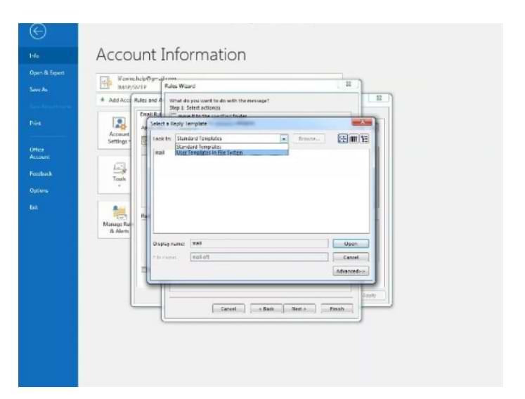 Cómo configurar respuestas automáticas en el correo electrónico de Outlook