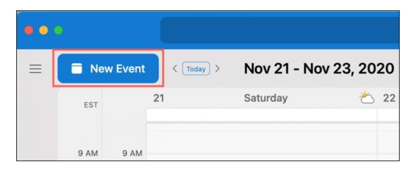 Cómo crear un calendario y programar eventos en Outlook 365 (Mac)