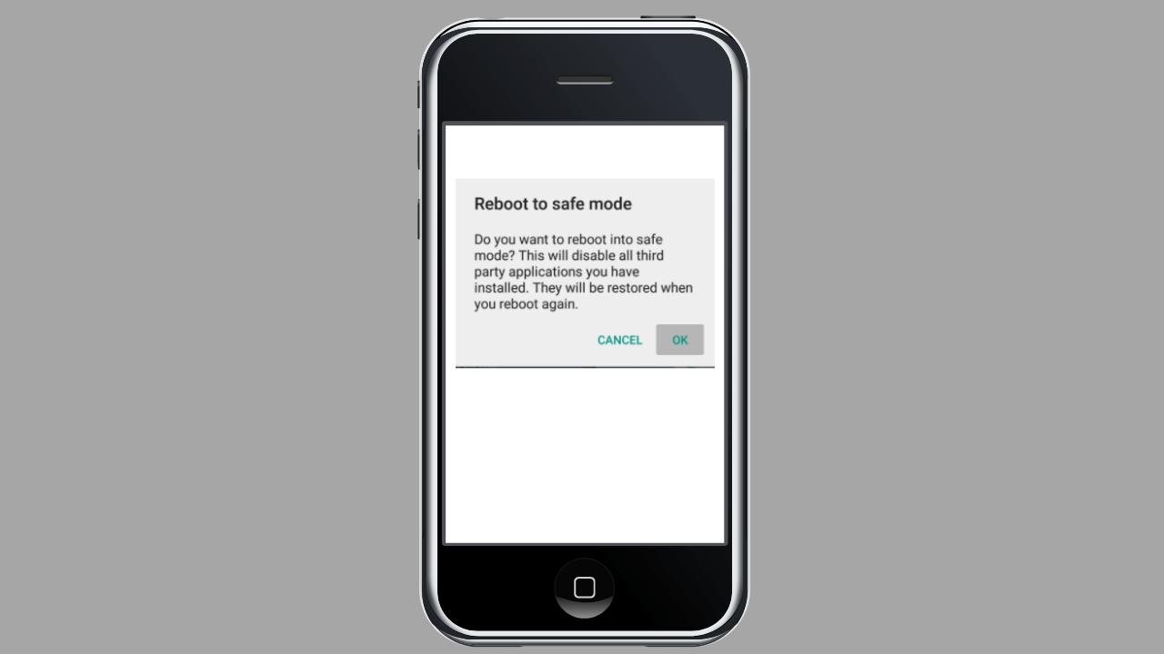 Cómo desactivar el modo seguro de Android