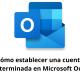 Cómo establecer una cuenta predeterminada en Microsoft Outlook