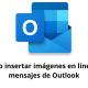Cómo insertar imágenes en línea en mensajes de Outlook
