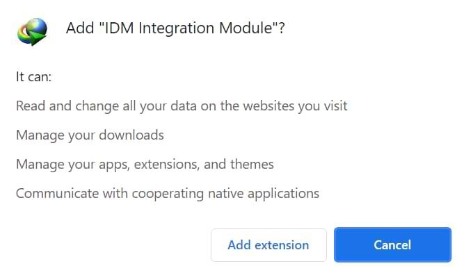 Cómo mostrar IDM en YouTube en Chrome