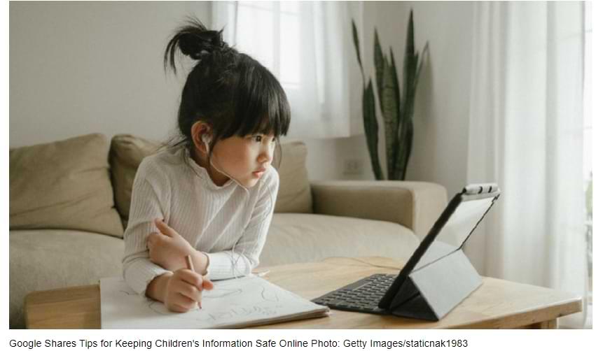 Google comparte consejos para proteger la información infantil en línea