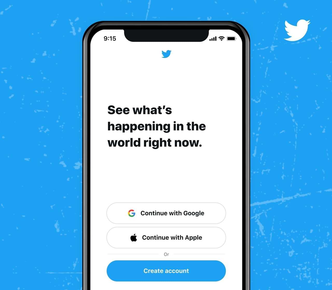 A partir de hoy, inicie sesión en Twitter ya puede usar las cuentas de Google o Apple