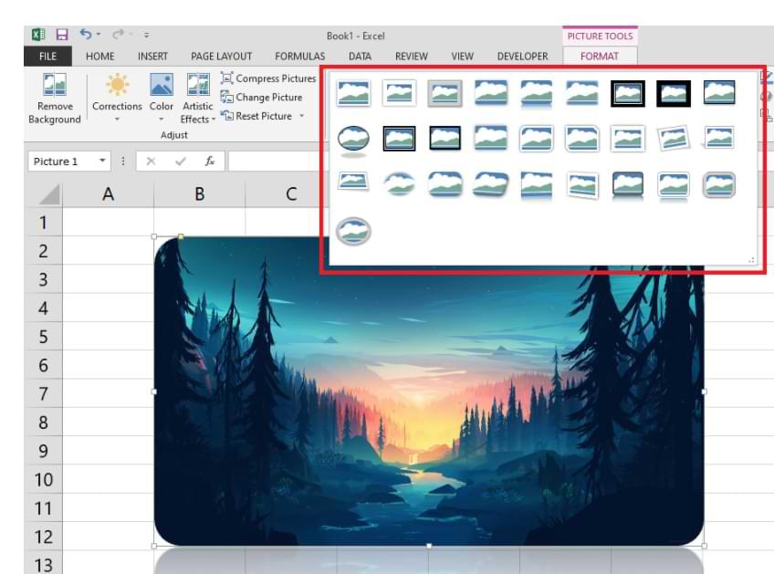 Cómo agregar imágenes en Microsoft Excel