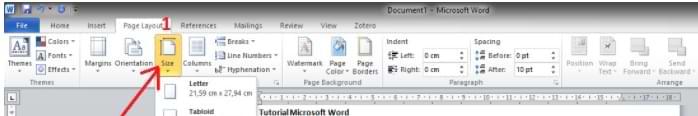 Cómo cambiar el tamaño de papel de Microsoft Word
