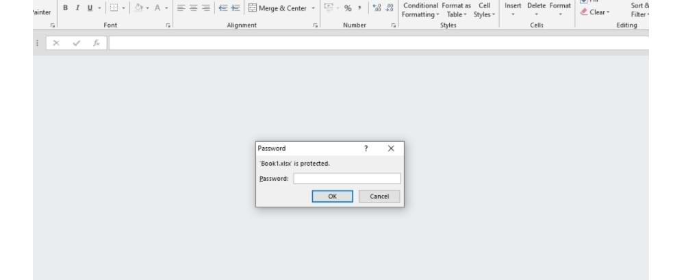 Cómo dar una contraseña en un documento de Excel