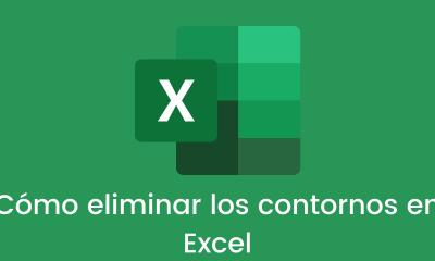 Cómo eliminar los contornos en Excel