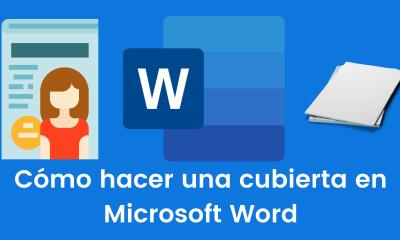 Cómo hacer una cubierta en Microsoft Word