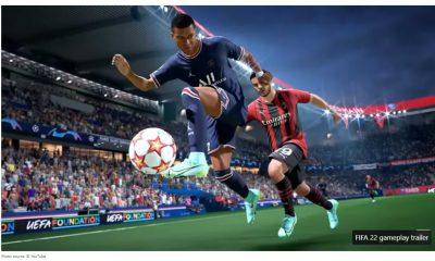 FIFA 22 un nuevo tráiler de juego. EA se jacta de la tecnología