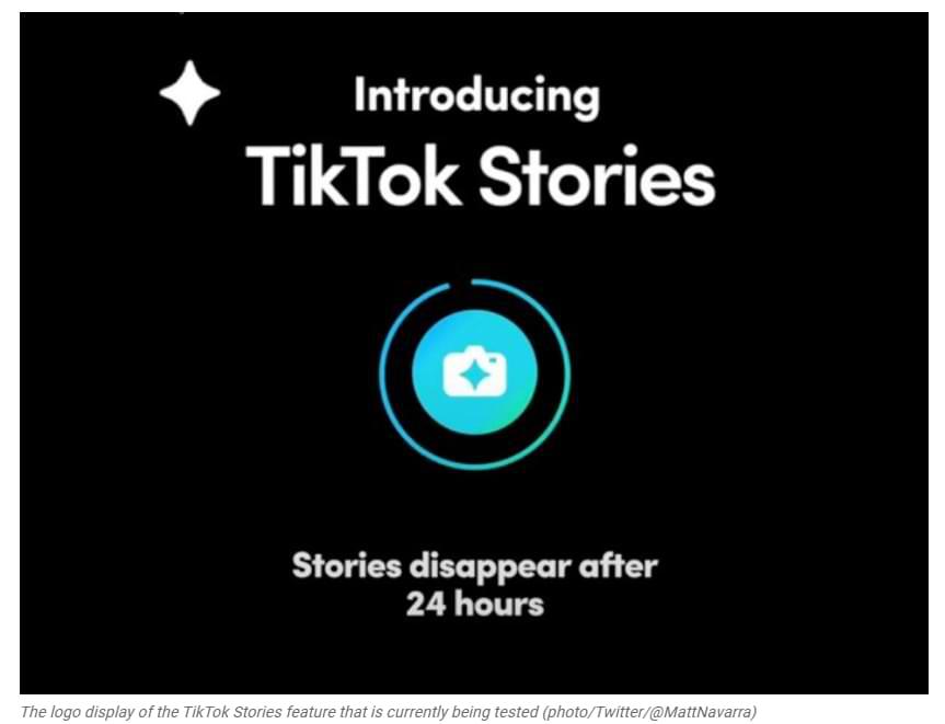 Similar a las historias de Instagram, Tiktok lanza características similares para sus usuarios