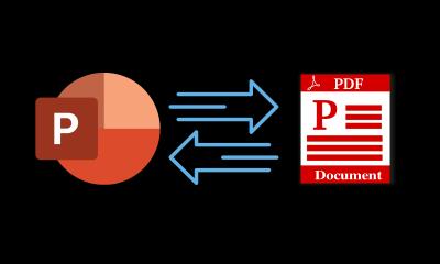 ¿Cómo convertir PowerPoint a PDF fácilmente, ya lo sabe