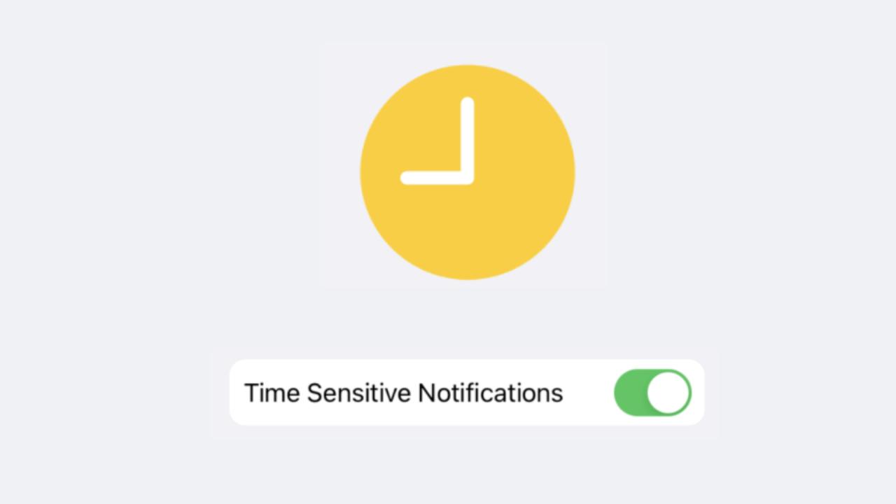 ¿Cuáles son las notificaciones de sensibles al tiempo en iPhone