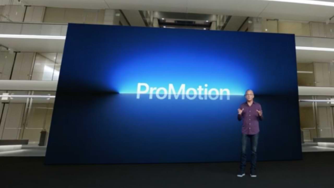 ¿Qué es una pantalla de promoción de Apple