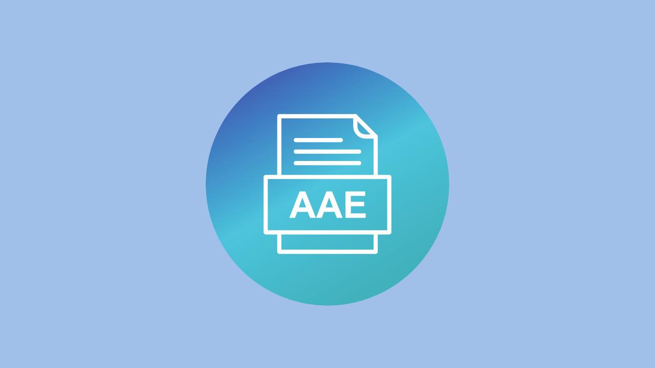 ¿Qué son los archivos AAE de un iPhone, y puedo borrarlos