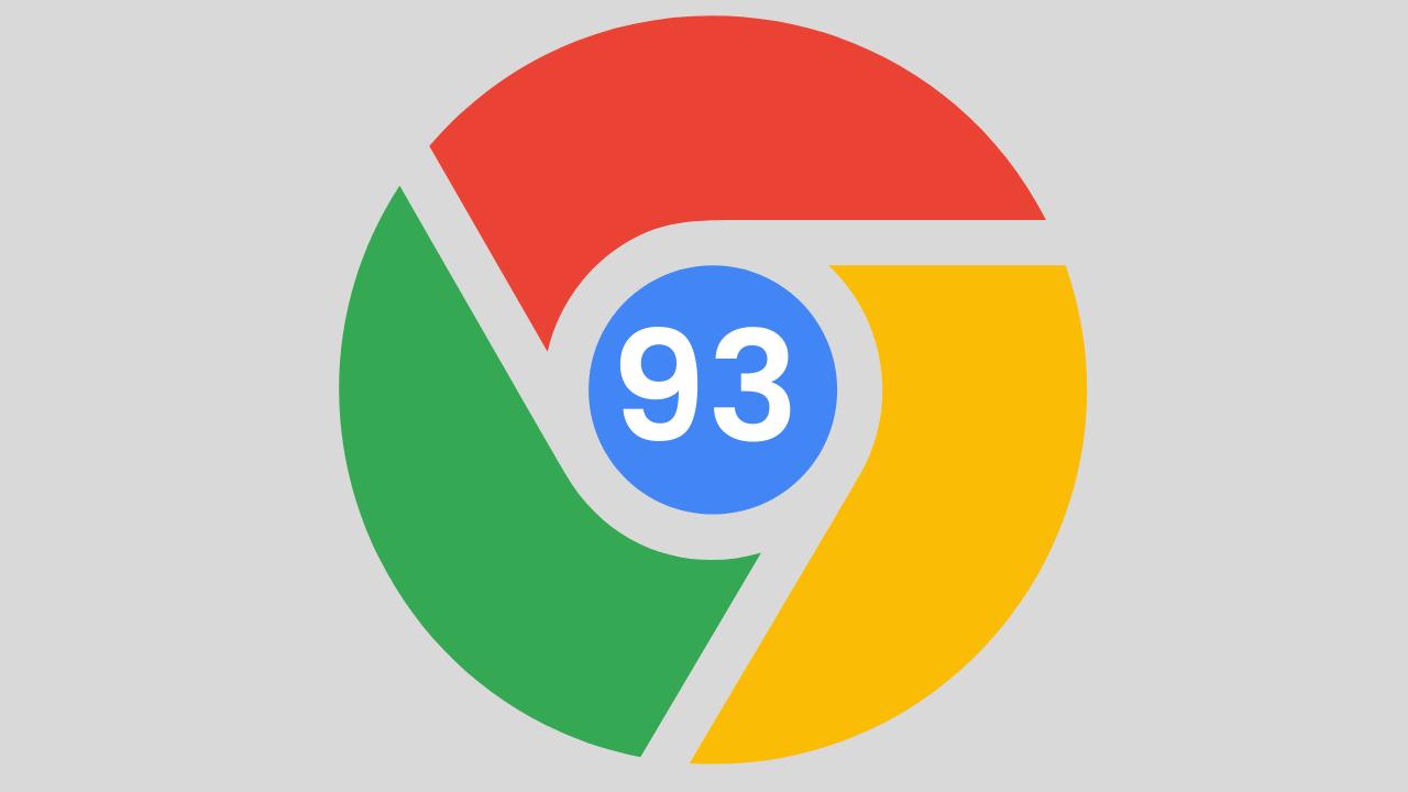 Chrome 93 está aquí para Mac, Windows, Android, y iPhone