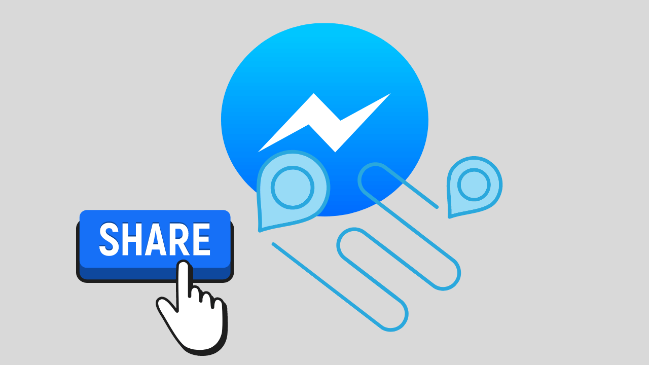 Cómo compartir tu ubicación con Facebook Messenger