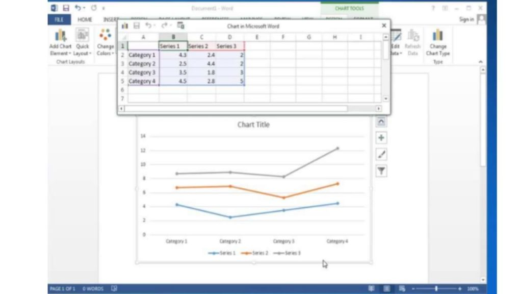 Cómo crear gráficos  tablas con Microsoft Word