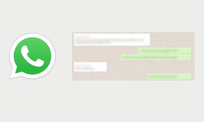 Cómo desenfocar mensajes en WhatsApp Web