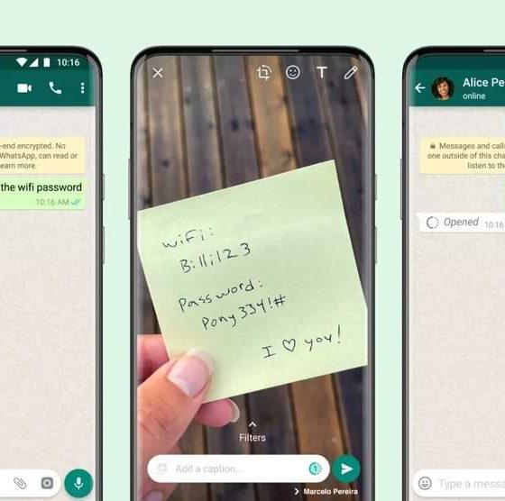 Cómo enviar fotos o videos de View Once en WhatsApp