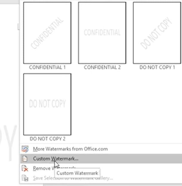 Cómo hacer marca de agua en Microsoft Word, fácil y práctico