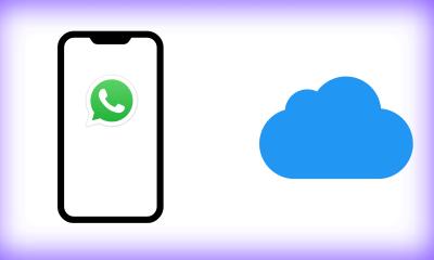 Cómo hacer una copia de seguridad del iPhone de WhatsApp en iCloud