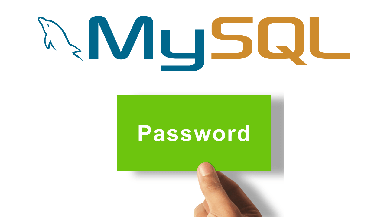 Cómo restablecer la contraseña de MySQL