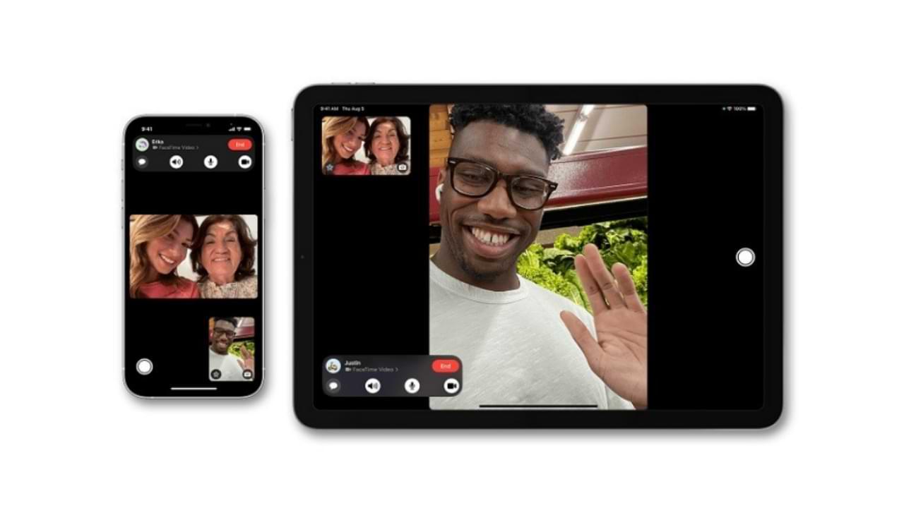 Cómo compartir la pantalla en FaceTime