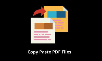 Cómo copiar y pegar archivos PDF