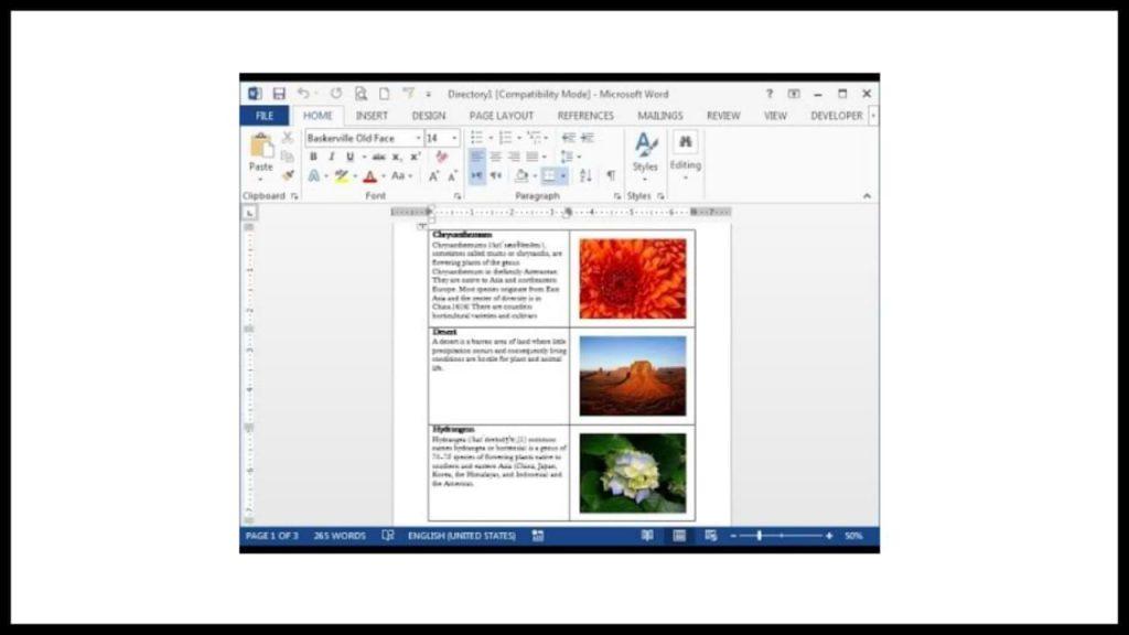 Crear imágenes de combinación de correspondencia en Microsoft Word