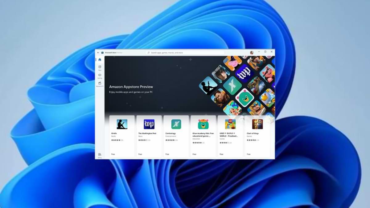 Finalmente puede probar las aplicaciones de Android en Windows 11
