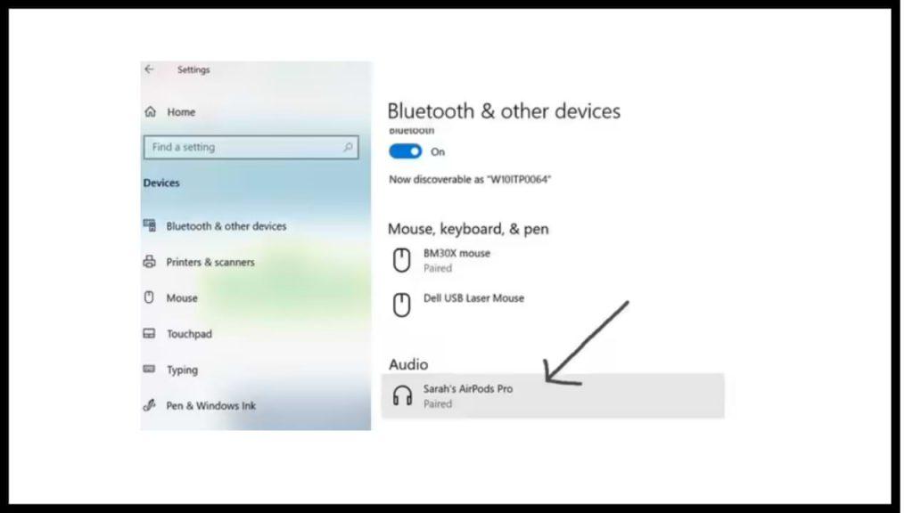 conectar AirPods a una PC