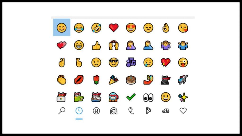 instalar el nuevo Insider Emoji de Windows 11 en Windows 10