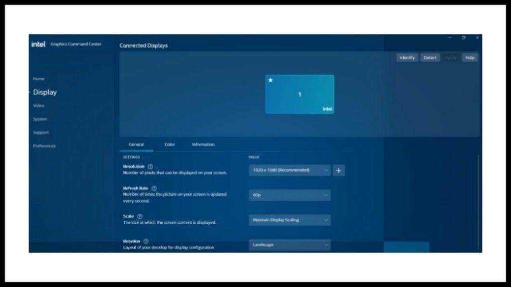 verificar la versión del controlador Intel HD en Windows 10